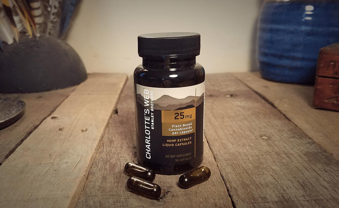 Charlotte's Web CBD Liquid Capsules - 25 mg