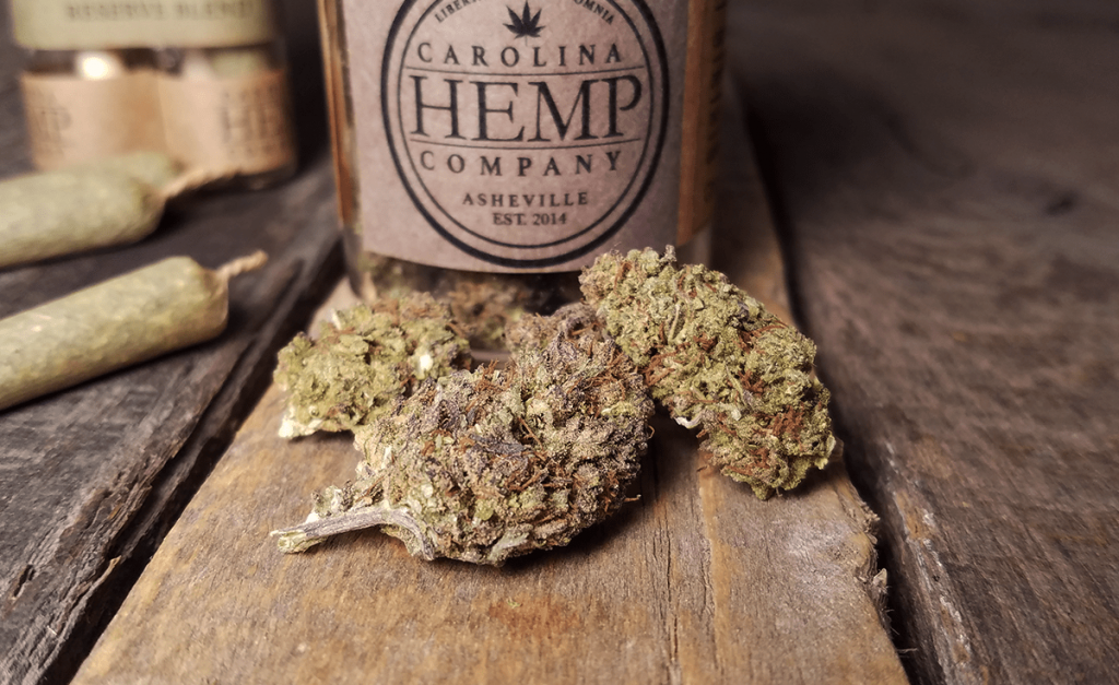 Carolina Hemp Company Hemp Flower Review - Lifter Strain