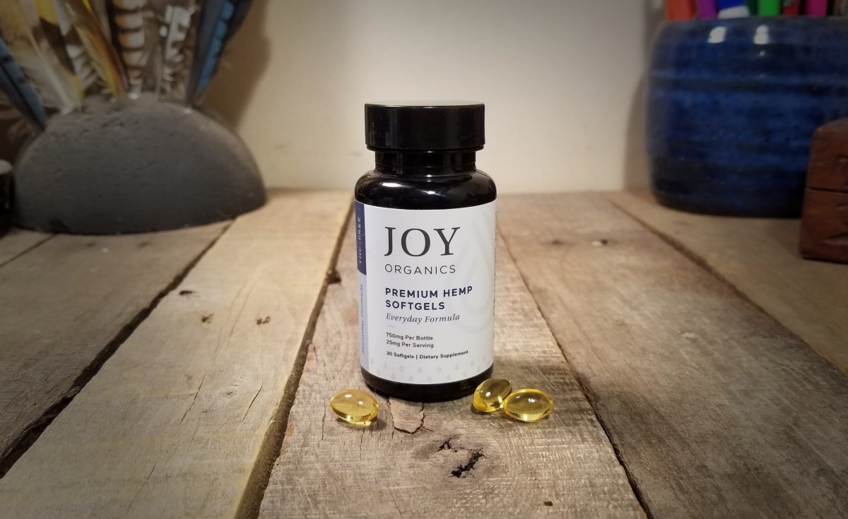 Joy Organics CBD Softgels Review